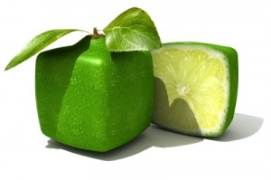 Business Consulting: A square fruit representing being different