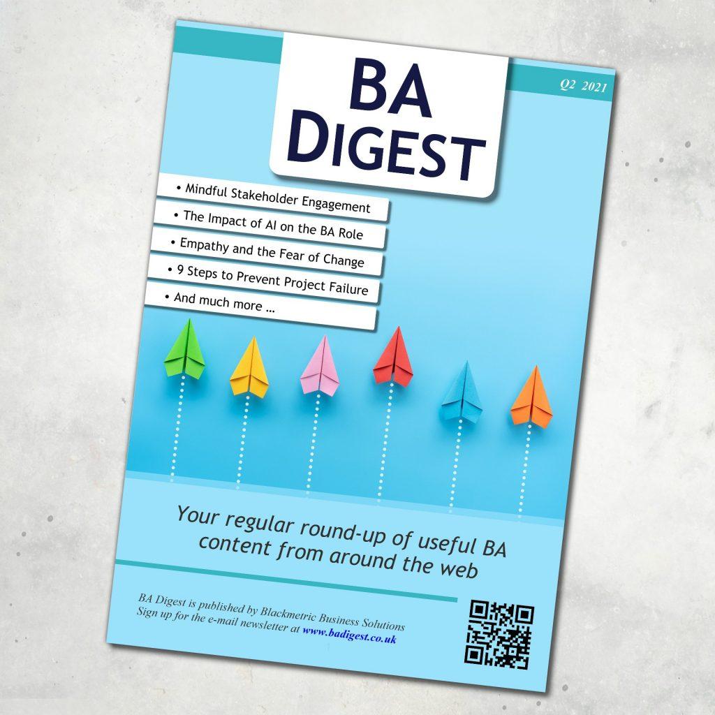 BA Digest Magazine Cover